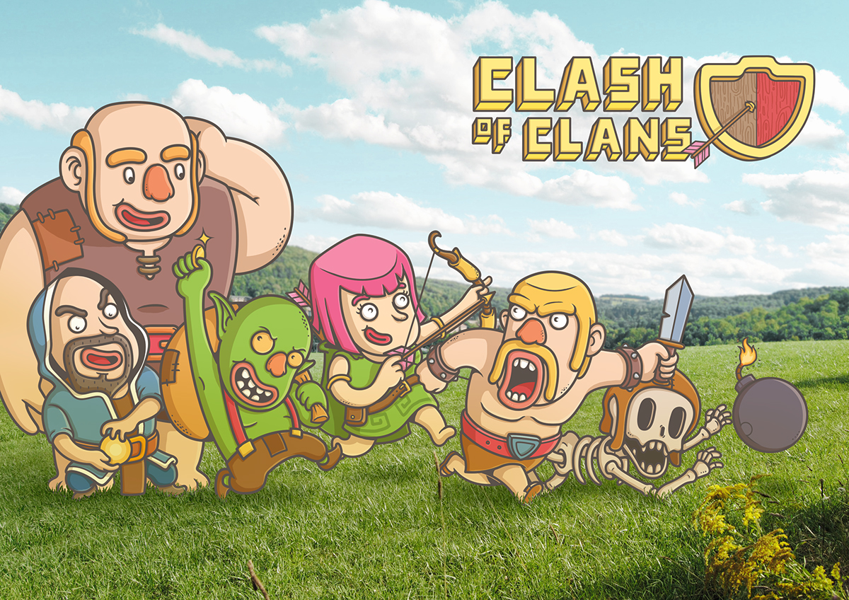 Clash of clans hentay