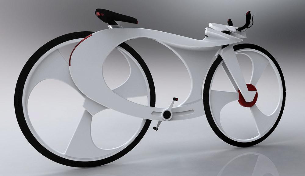 Bike future iphone Urban Bicycle concept Conceptdesign