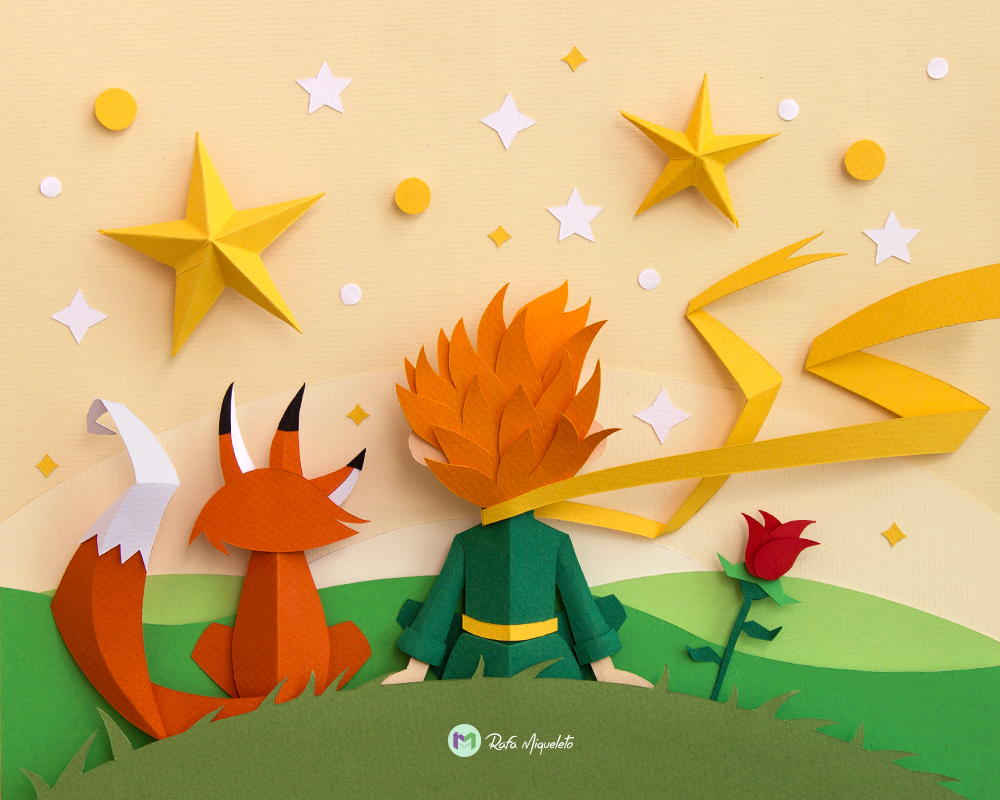 Le petit prince on behance Decoration le petit prince