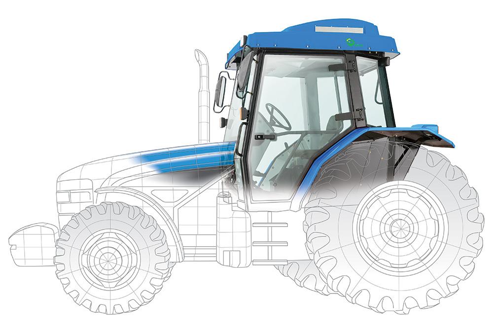 Tractor fusion vector+bitmap