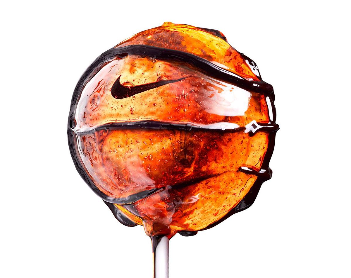 Nike basketball New York Paris still life sugar avantgarde modern