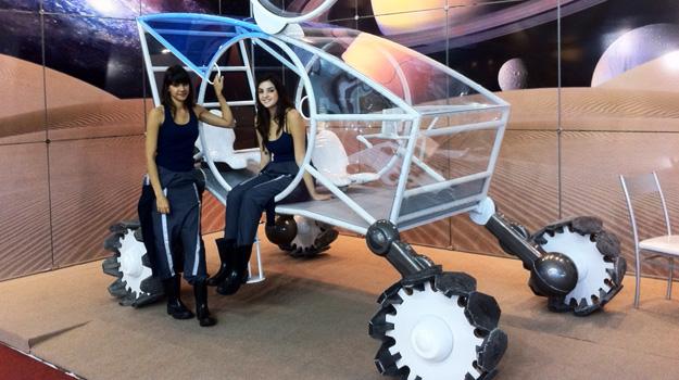 lunar Automóvel car expedição