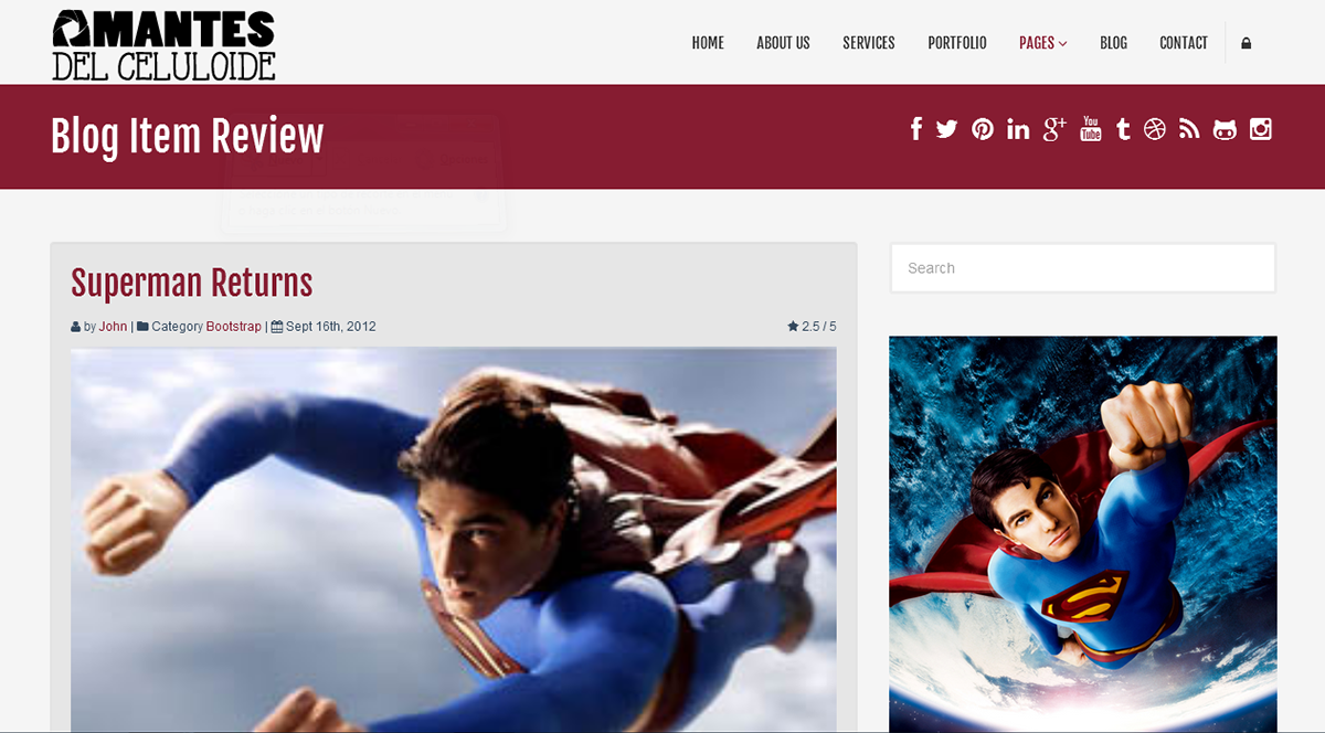 html5 css3 JavaScript jquery php bootstrap template