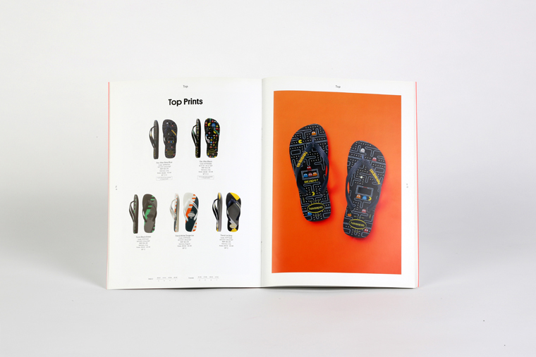 Catalogue commercial Layout