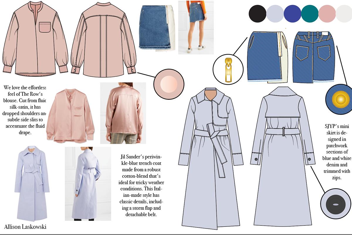 Cad For Fashion Design Midterm Collection On Philau Portfolios