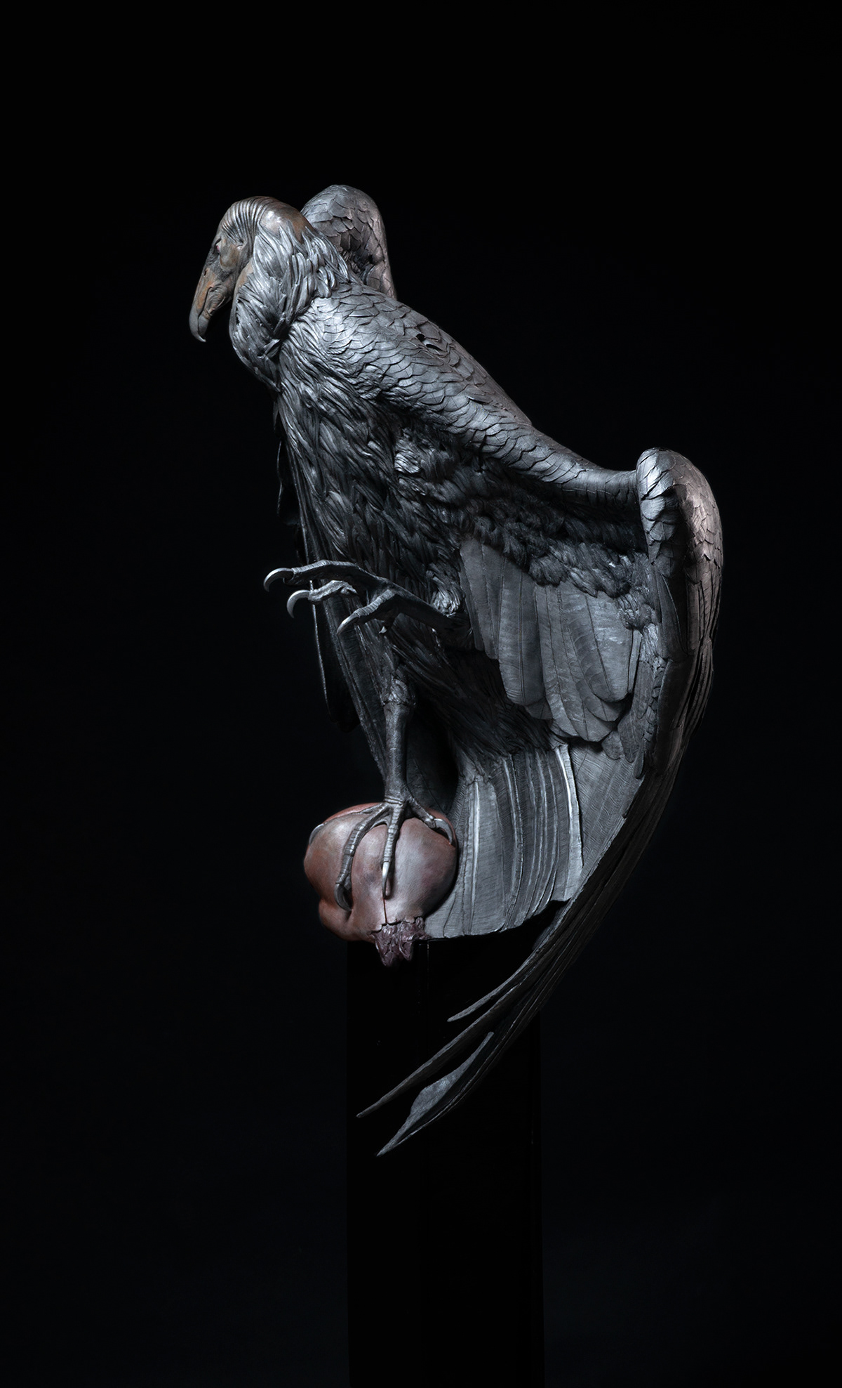 sculpture fine art Work in Process