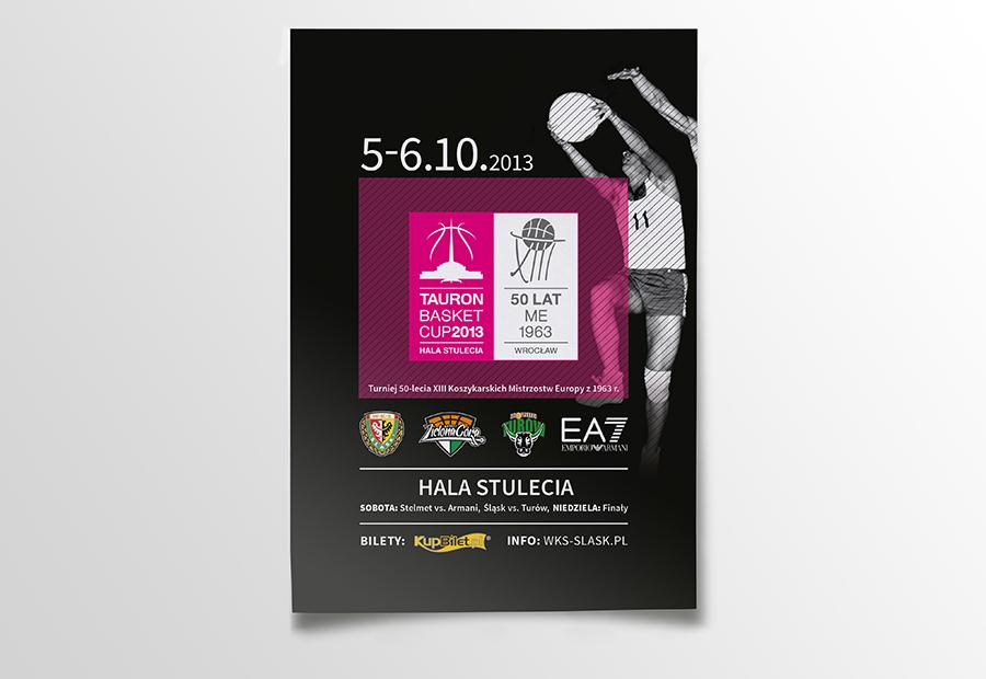 logo Tournament basketball cup sport brand poster tickets