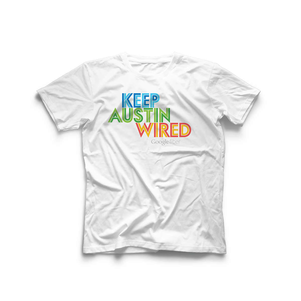 Google Fiber - Keep Austin Wired T-shirt on Behance