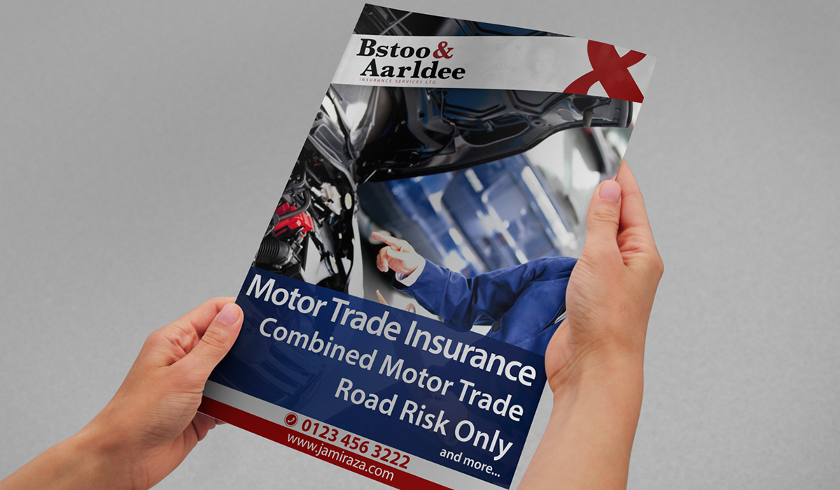 poster print design photoshop insurance