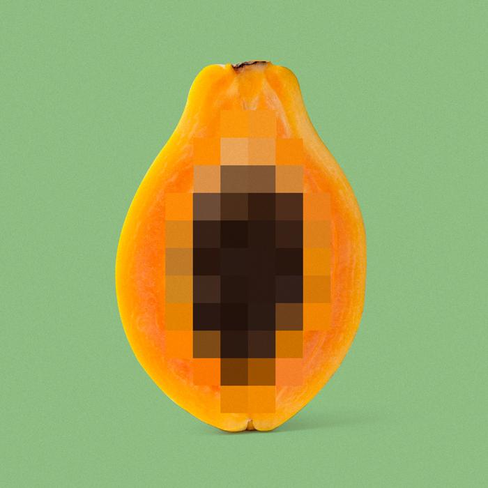 Censored boobs nude pixel art Fruit censurado pixeles