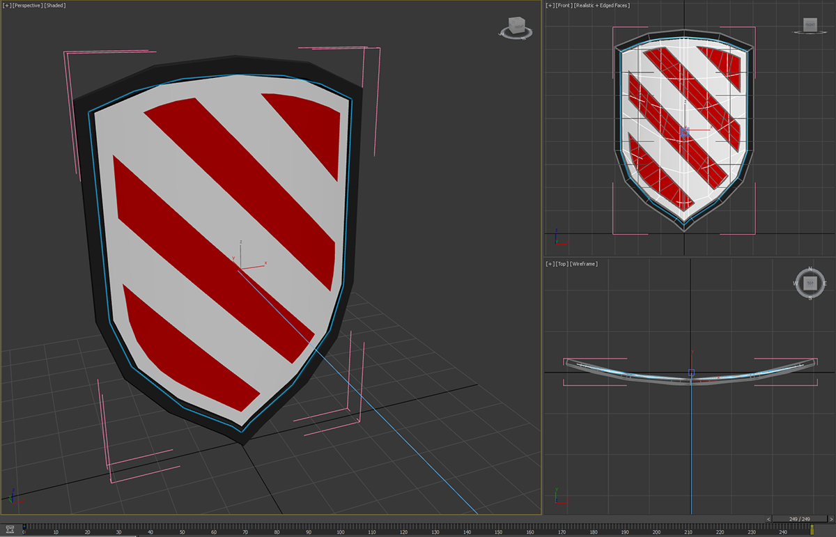 Animated Shield For Citylight On Behance