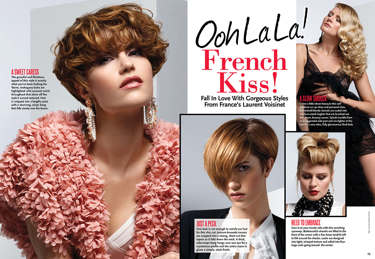 Sophisticate S Hairstyle Guide Magazine On Behance