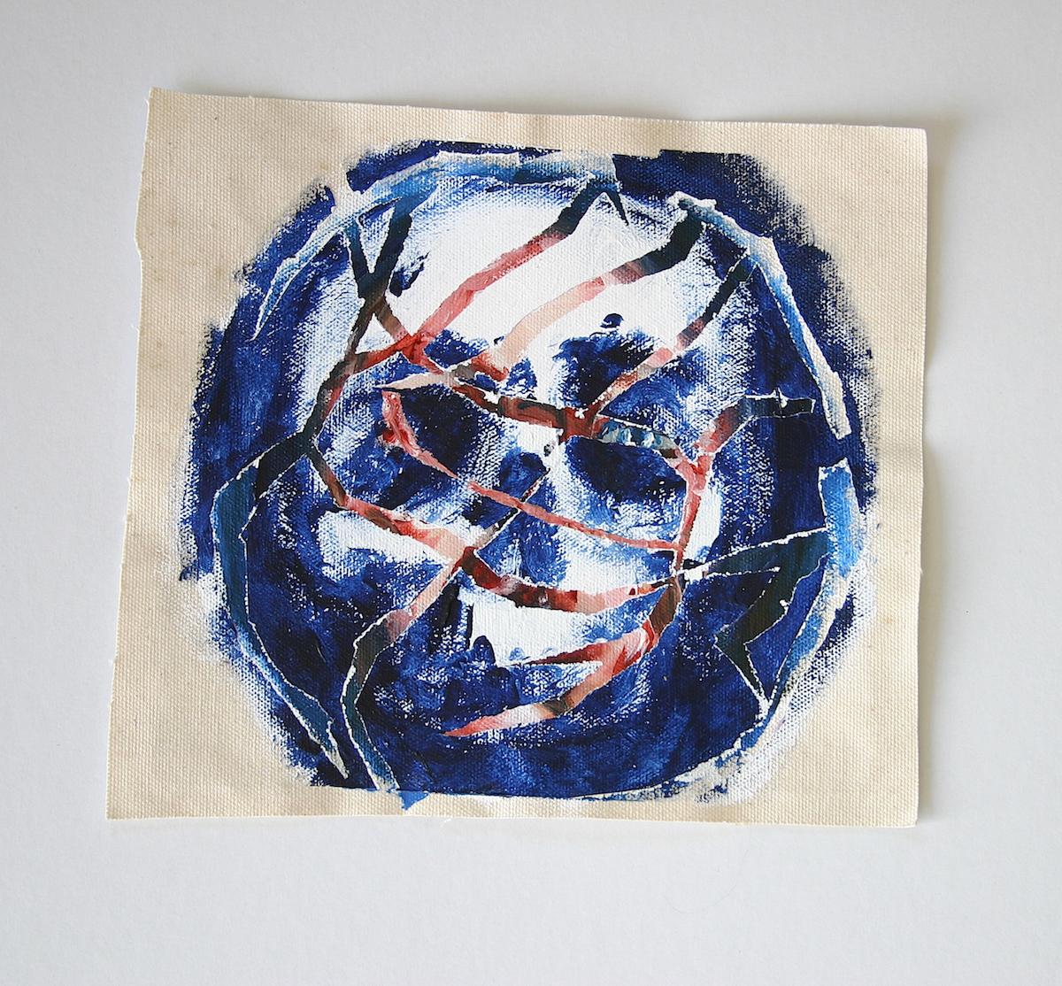 skulls death acrylic acrylic painting bones dark canvas eyes