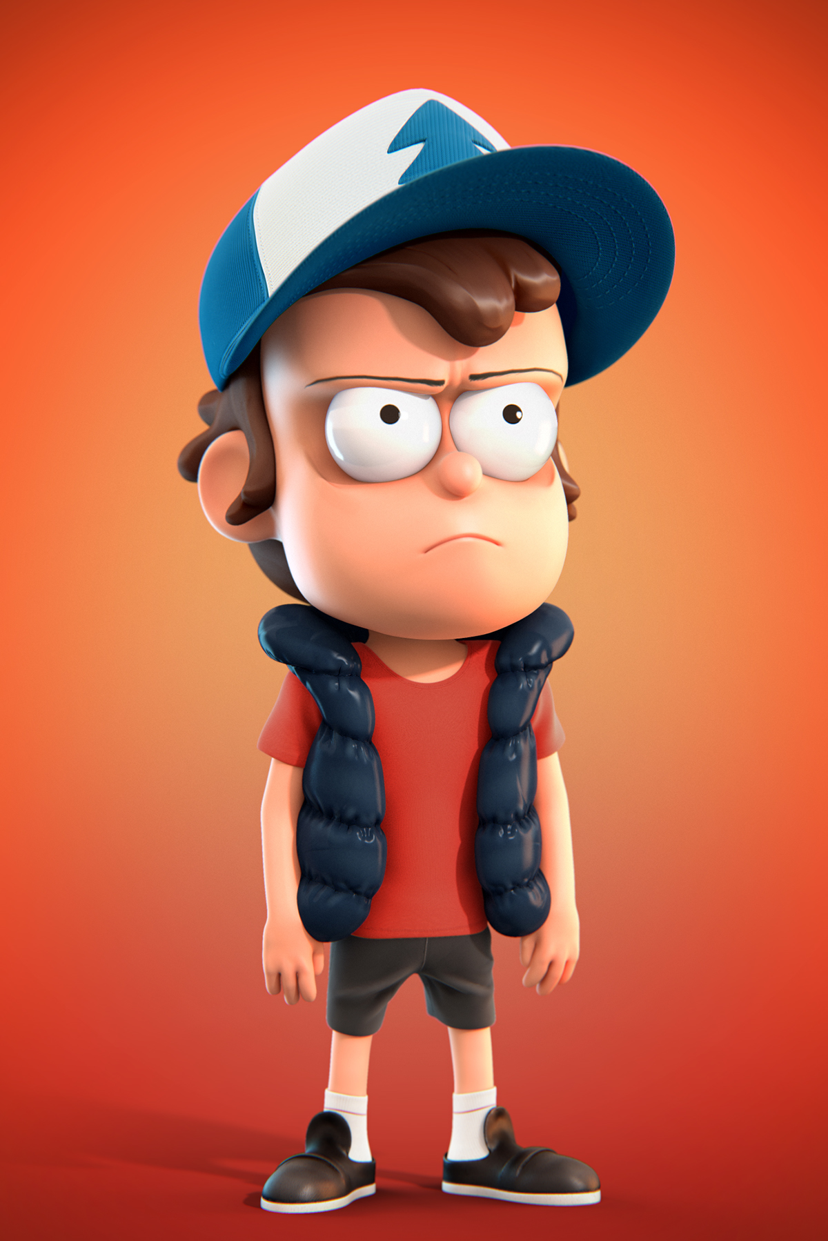 dipper pines on behance