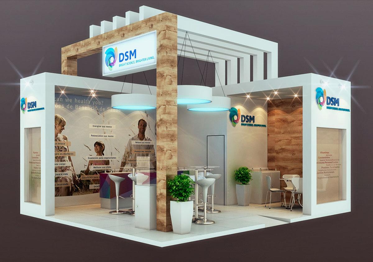 Exhibition Stand Design Behance : Stand dsm on behance