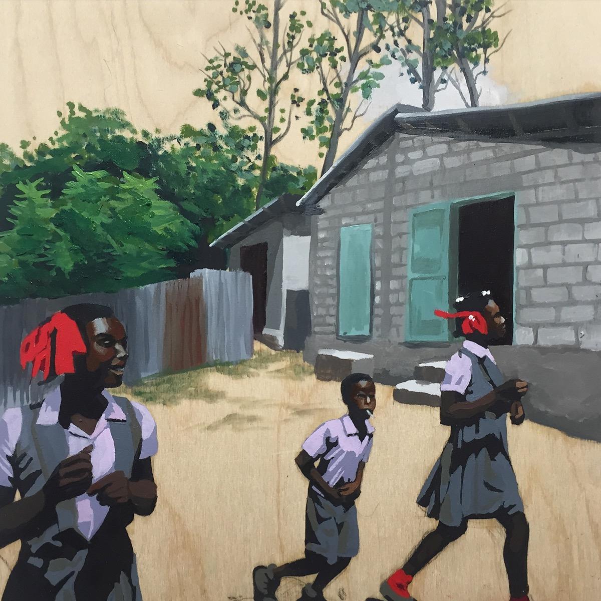 Haiti haitians GraffitiAbstract lettering