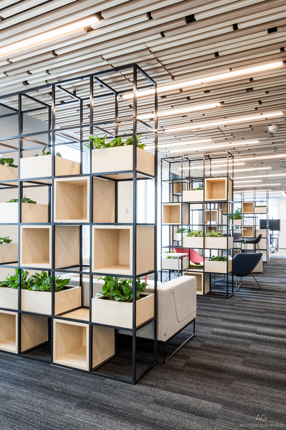 Maxus office on behance for Best office design in the world