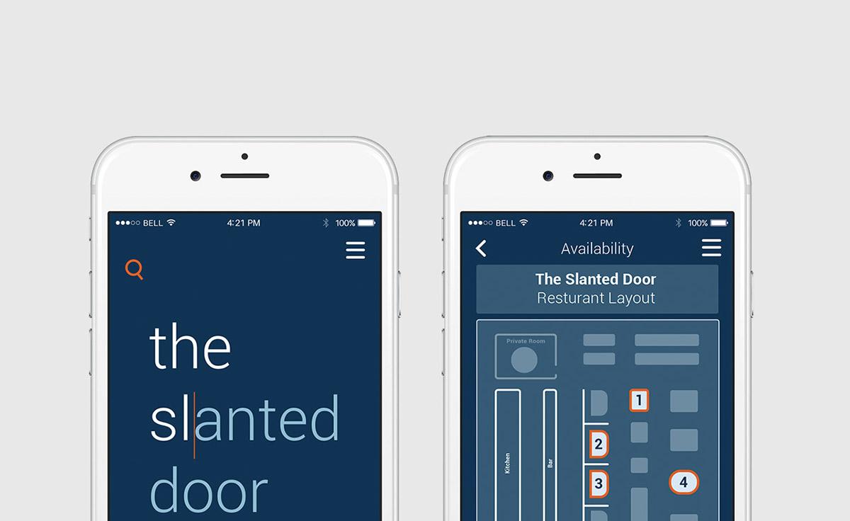 Rezzit The Restaurant App On Behance - Restaurant table app