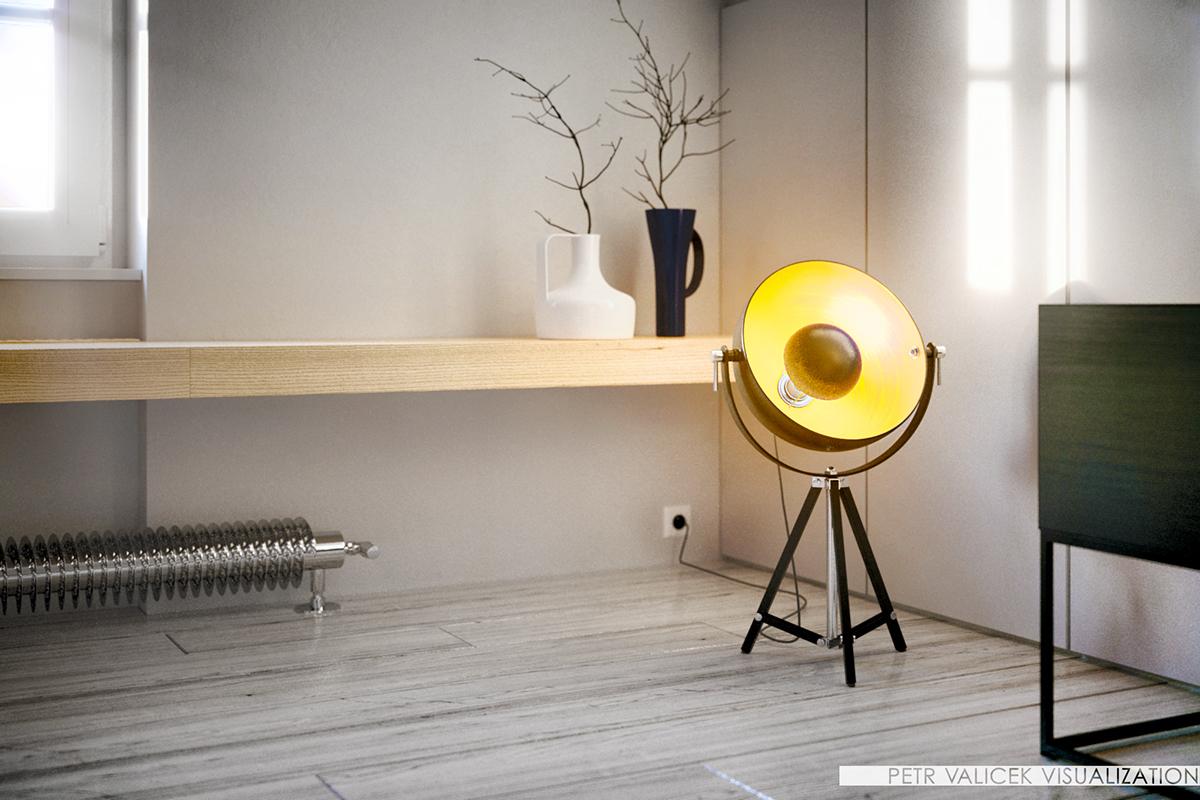 LOFT modern Interior design architectue vizualisation