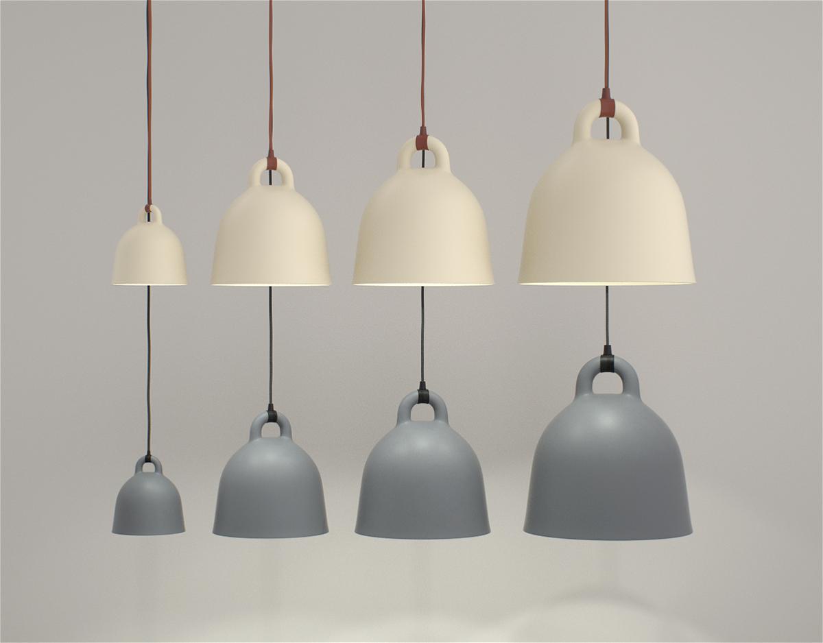 bell lamp normann copenhagen normann copenhagen bell lamp normann copenhagen andreas lund and. Black Bedroom Furniture Sets. Home Design Ideas