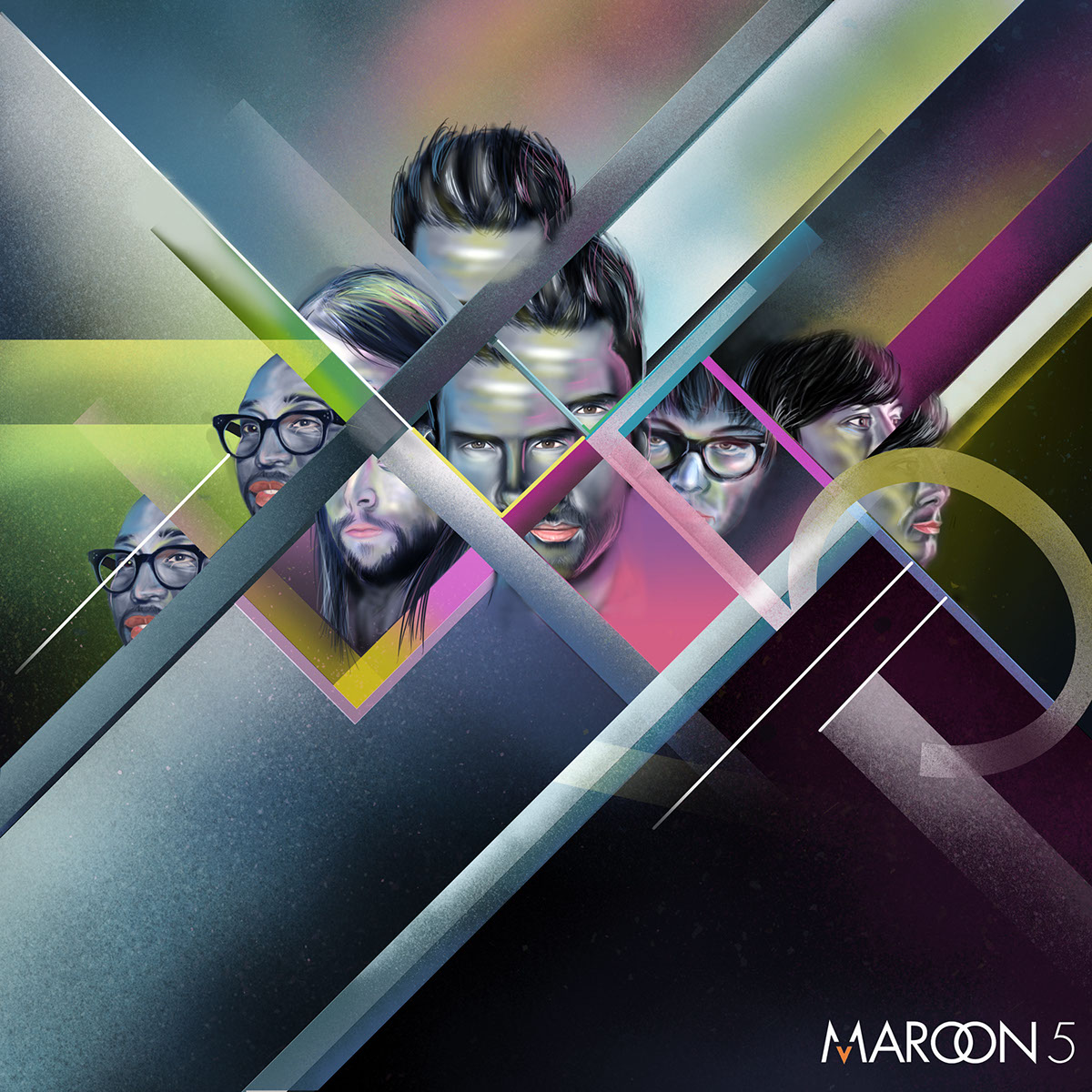 digital painting photoshop maroon 5
