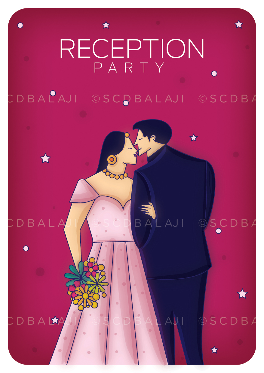 Contemporary Indian Wedding Invite Package on Behance