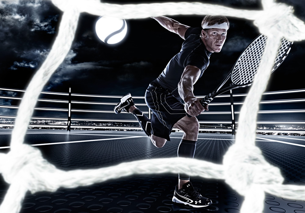 CGI  3d  sports digital Imaging sports light lighting future Tadder campau action intensity dramatic vivid
