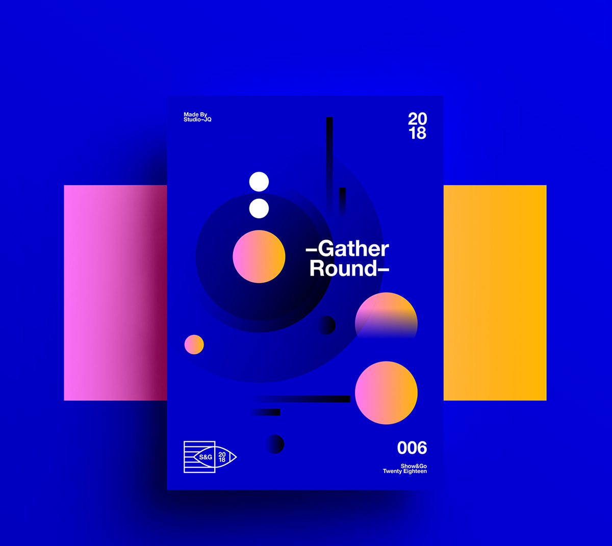Trendy Graphic Design: 2018 Design Trends Guide By Milo On Behance