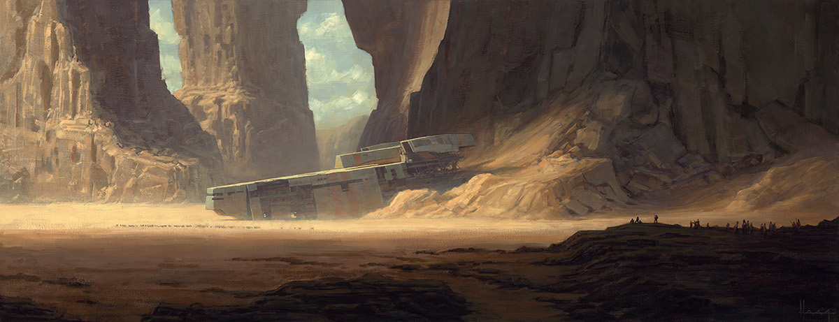 Favori Science Fiction Art on Behance JU53