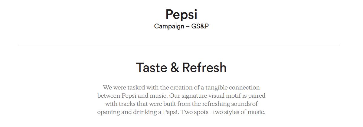 pepsi fluid motion design CG coke cola c4d houdini MoGraph