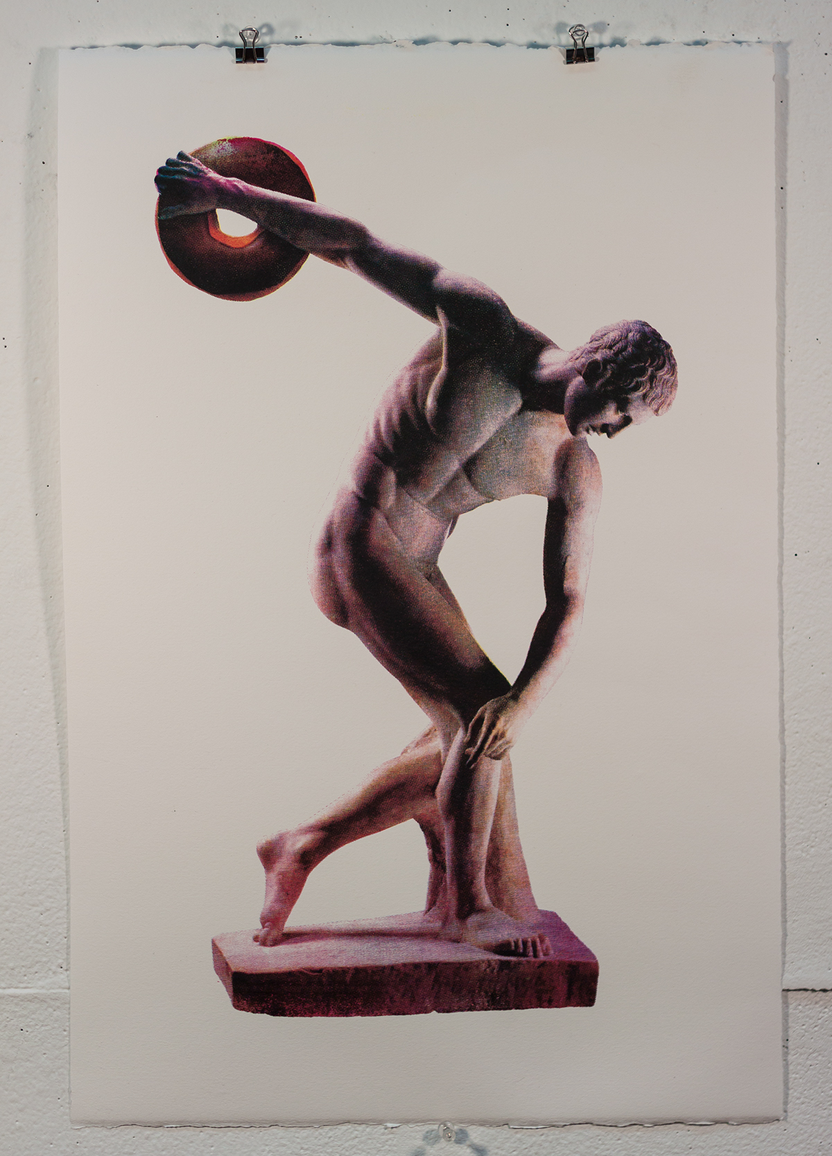 myron diskobolus discus thrower