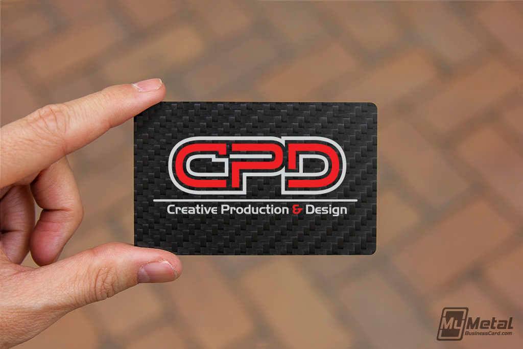 Genuine Carbon Fiber Business Cards On Behance