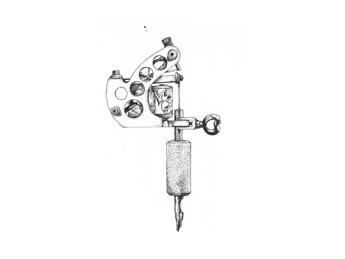 tattoo VOLT folter art design Corporate Design brand Spektrum44 S44