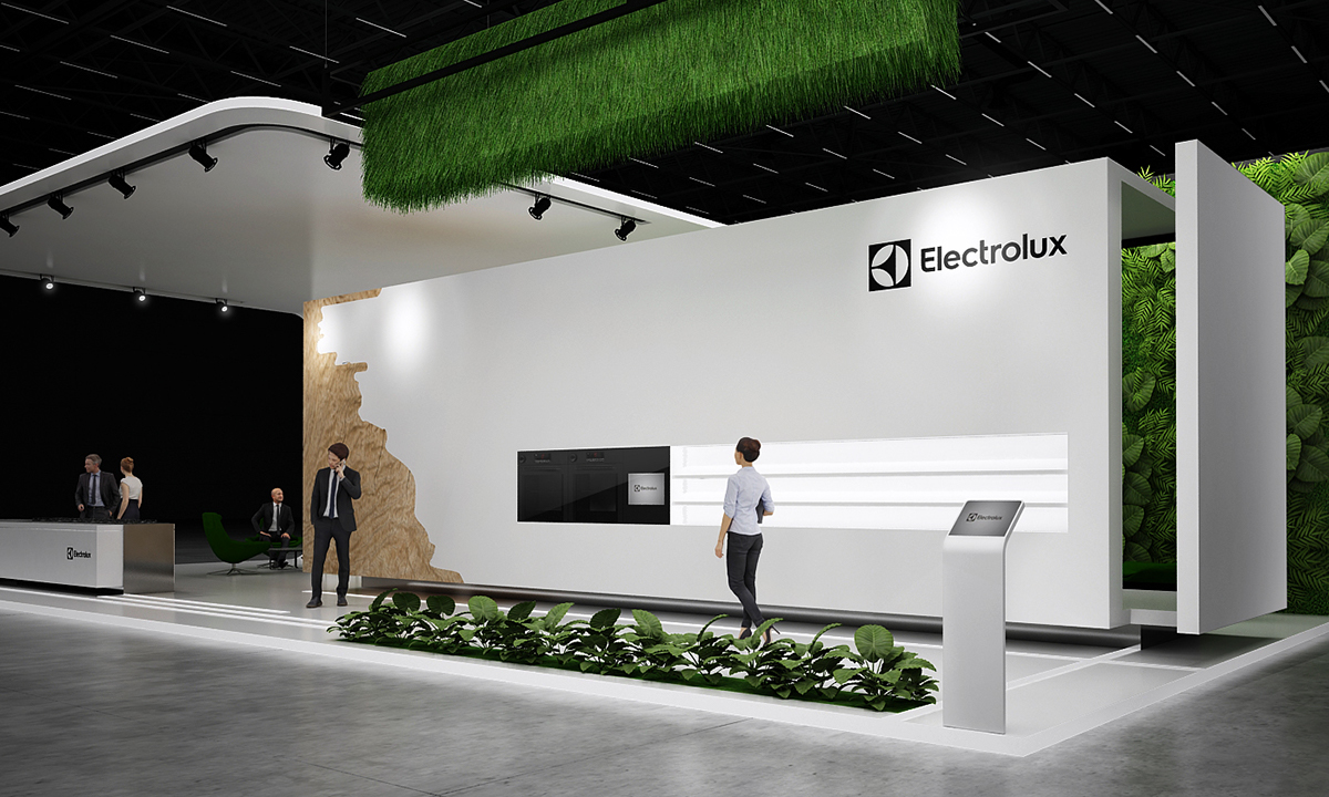 D Exhibition Designer Jobs : Electrolux exhibition stand on behance