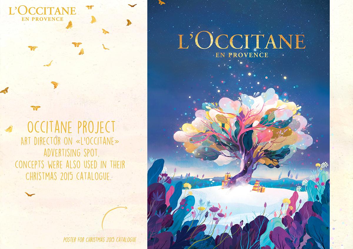 noel 2018 occitane L'occitane Noël 2015 on Behance noel 2018 occitane