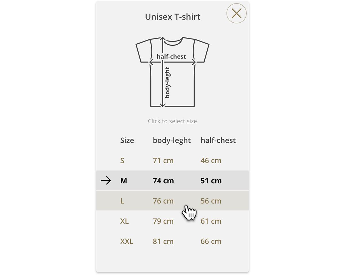e-shop eshop fabric Personalise