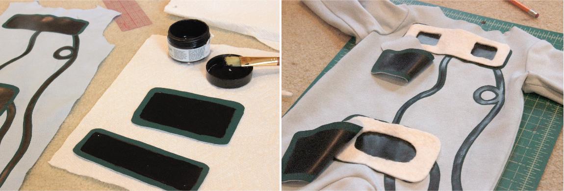 Polsadors tàctils amb pintura conductora