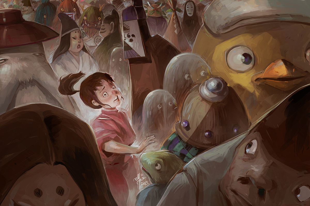 Spirited Away Fan Art On Behance