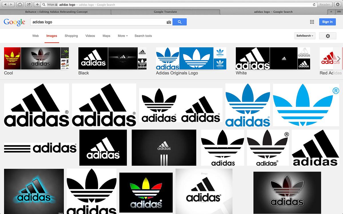 adidas web site