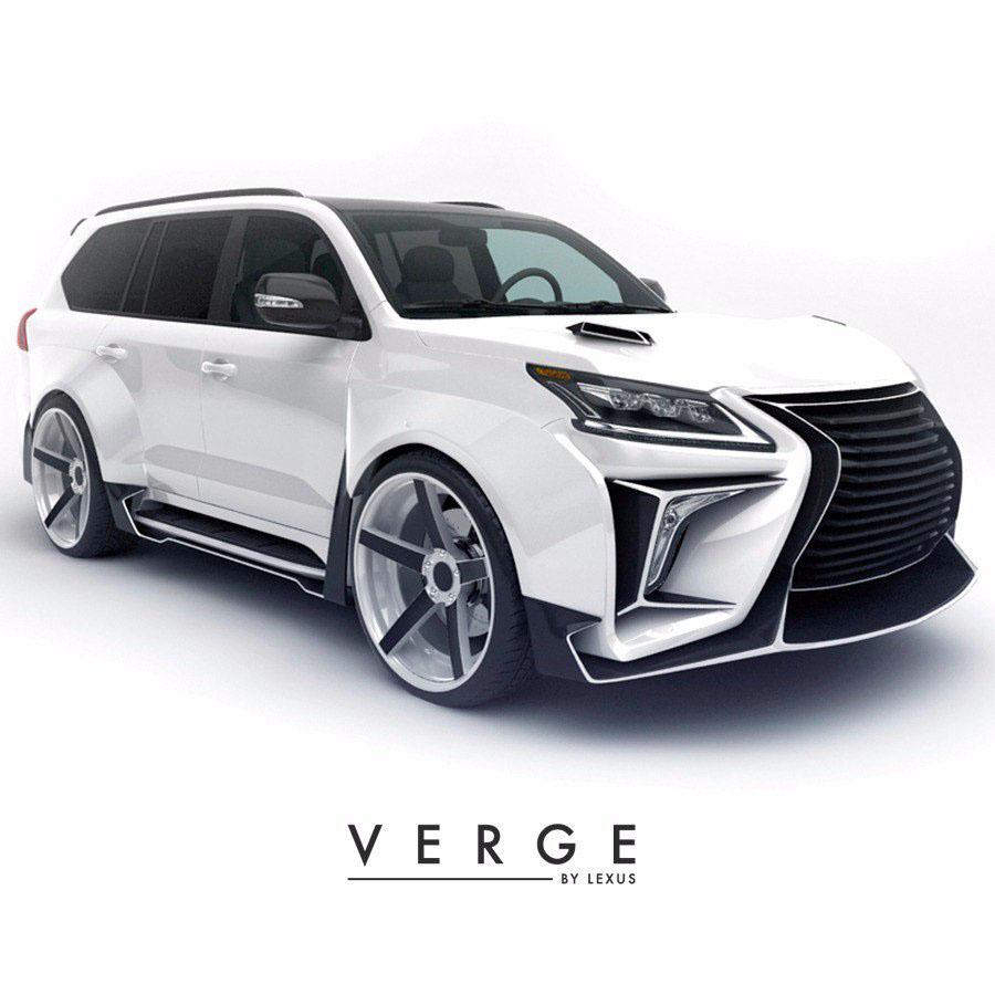 Lx 350 Lexus: Lexus LX570 Body Kit VERGE Soon Will Begin Selling On Behance