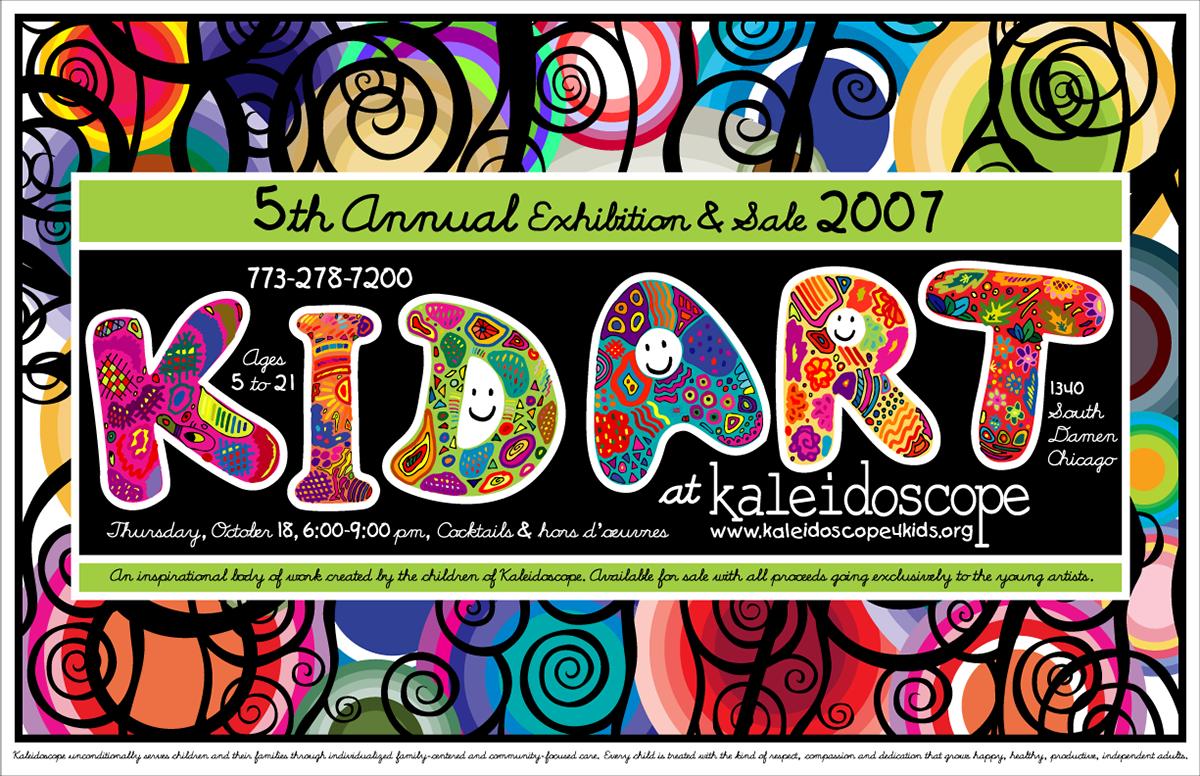 Welcome To She Saw Design Kaleidoscope Kid Art Gallery 2007