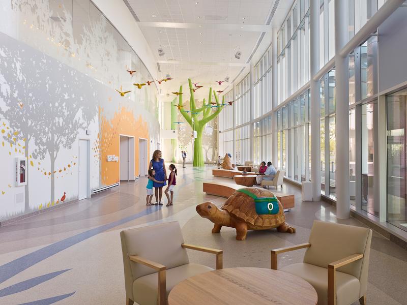 Nationwide Children S Hospital Interiors On Behance