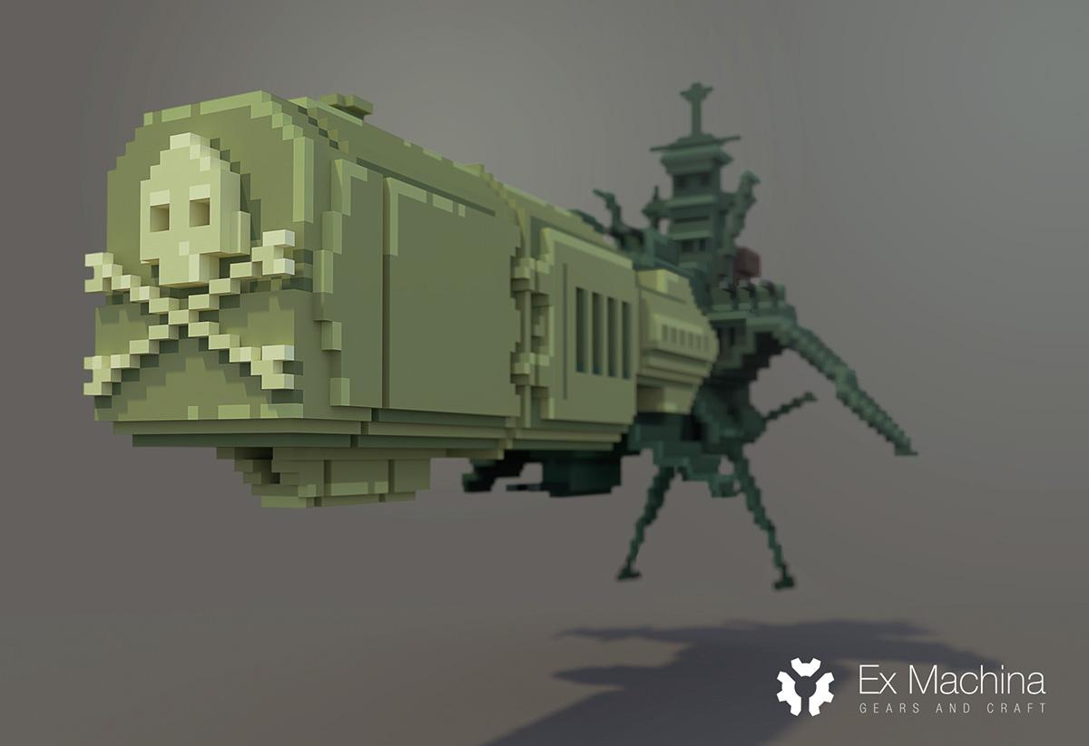 Albator's Arcadia fanart on Behance