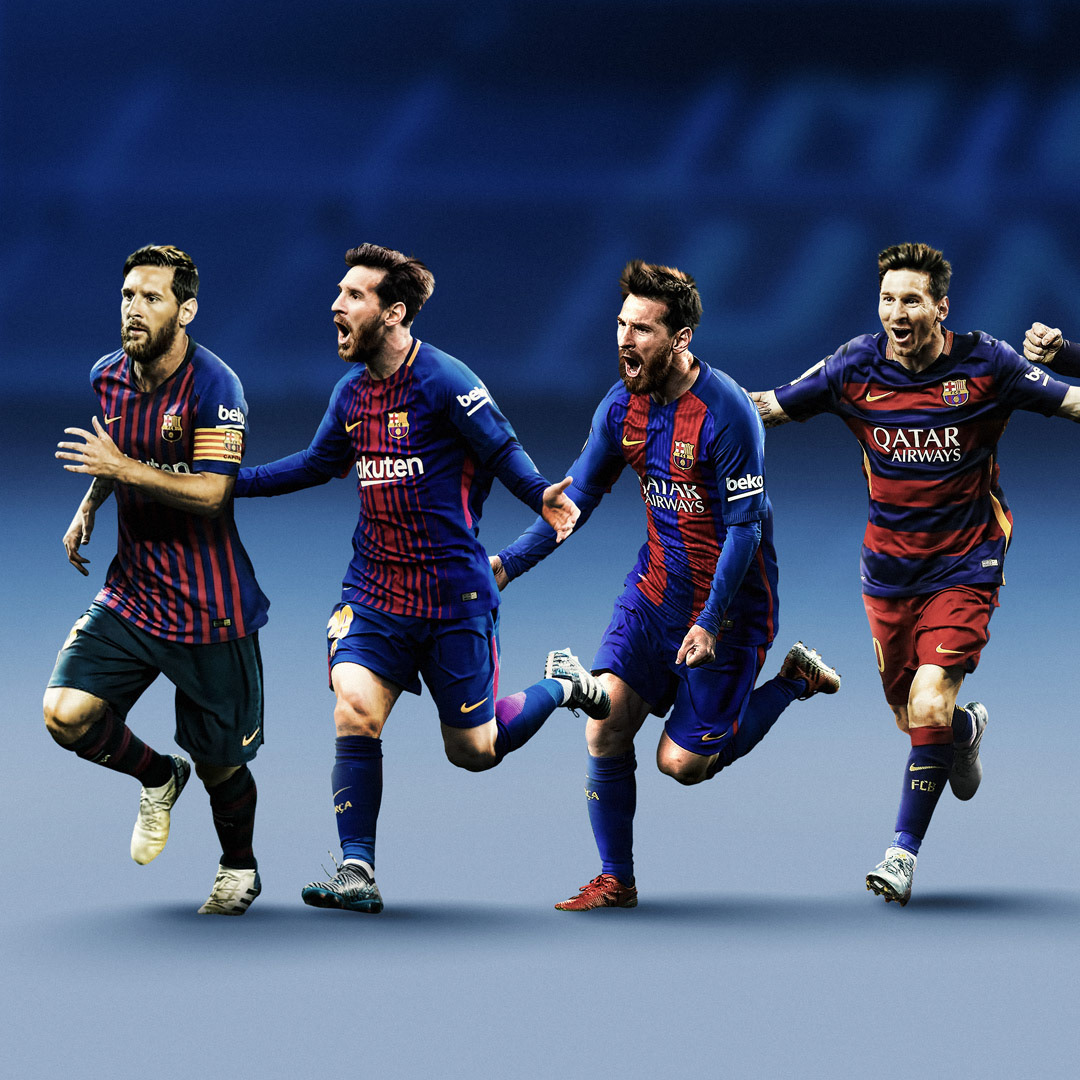 Fc Barcelona Posters 2018 19 On Pantone Canvas Gallery