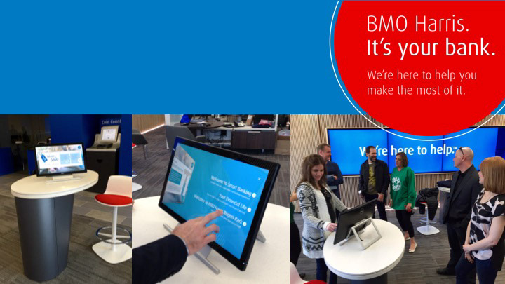 BMO Harris: Studio 2 0 - In-branch Digital Apps on Behance