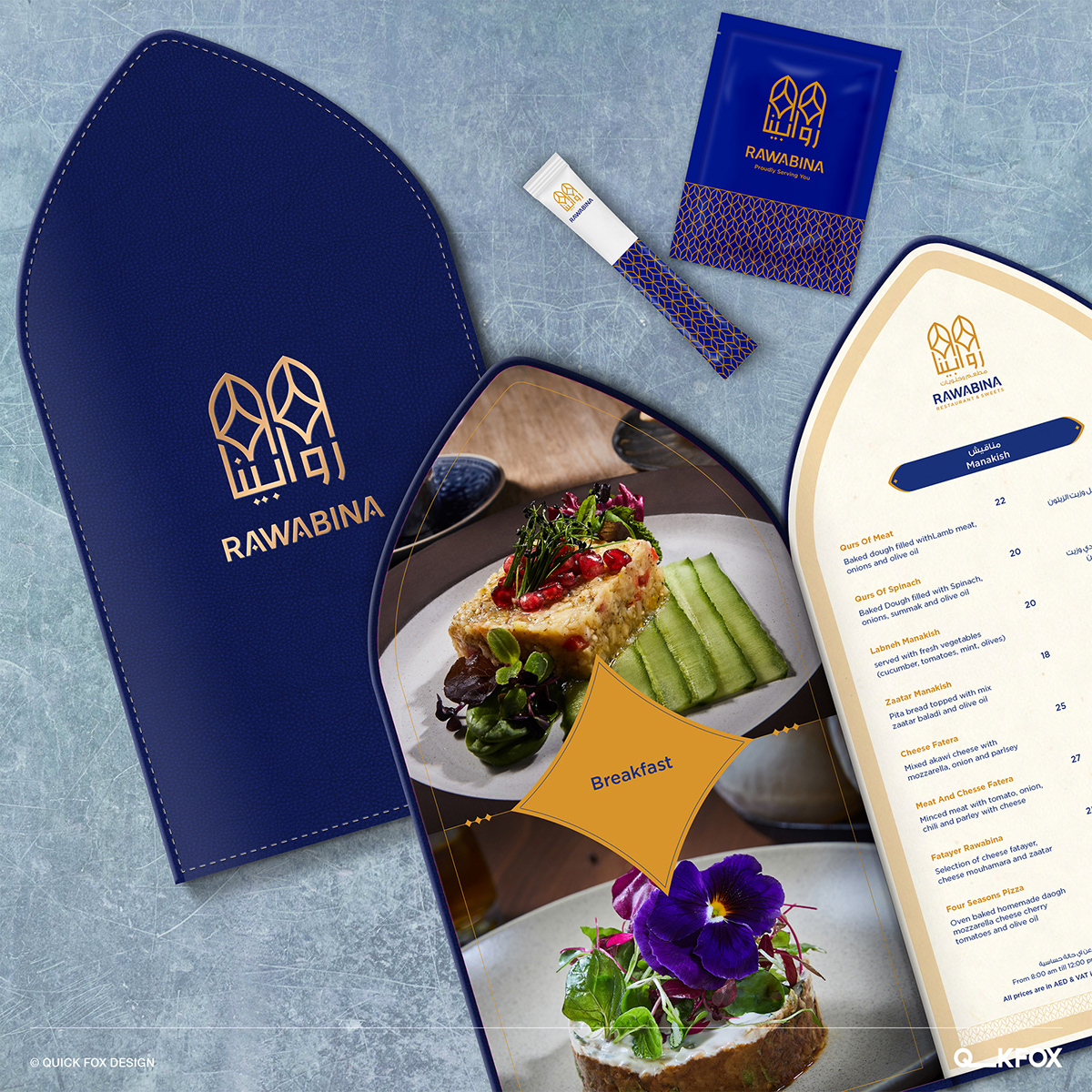 Image may contain: table, food and menu