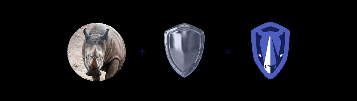 private security,militar,badge,Rhino,shield