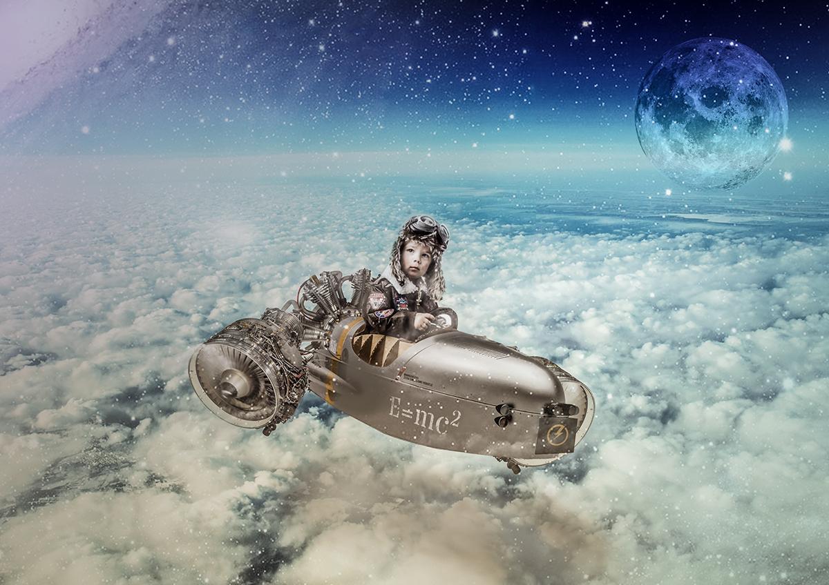 #asseceleste #cielo #stelle #stellato #navicella #navicellaspaziale #bambino #pilota #astronave #fantasy #fantasia #compositing #photoshop #ritocco #touch-up #composizione #luna #galassia # #spaceship #nacelle #galaxy #