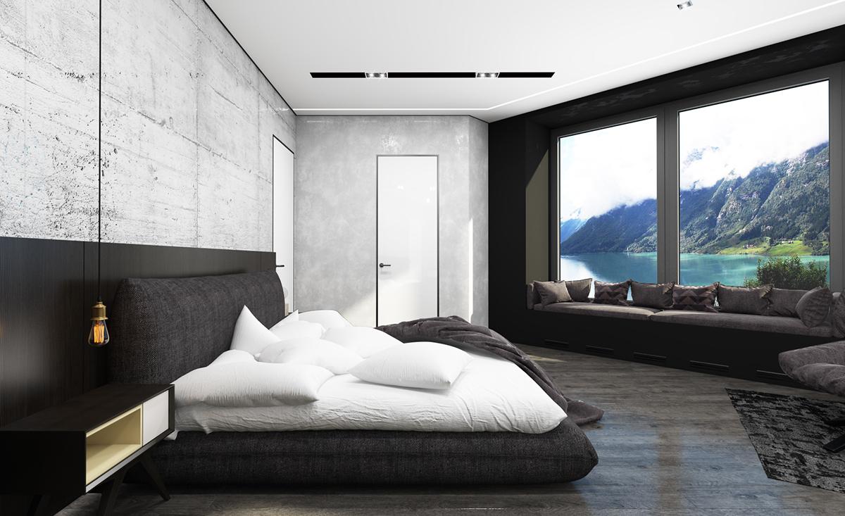 Bedroom For Modern Couple On Behance