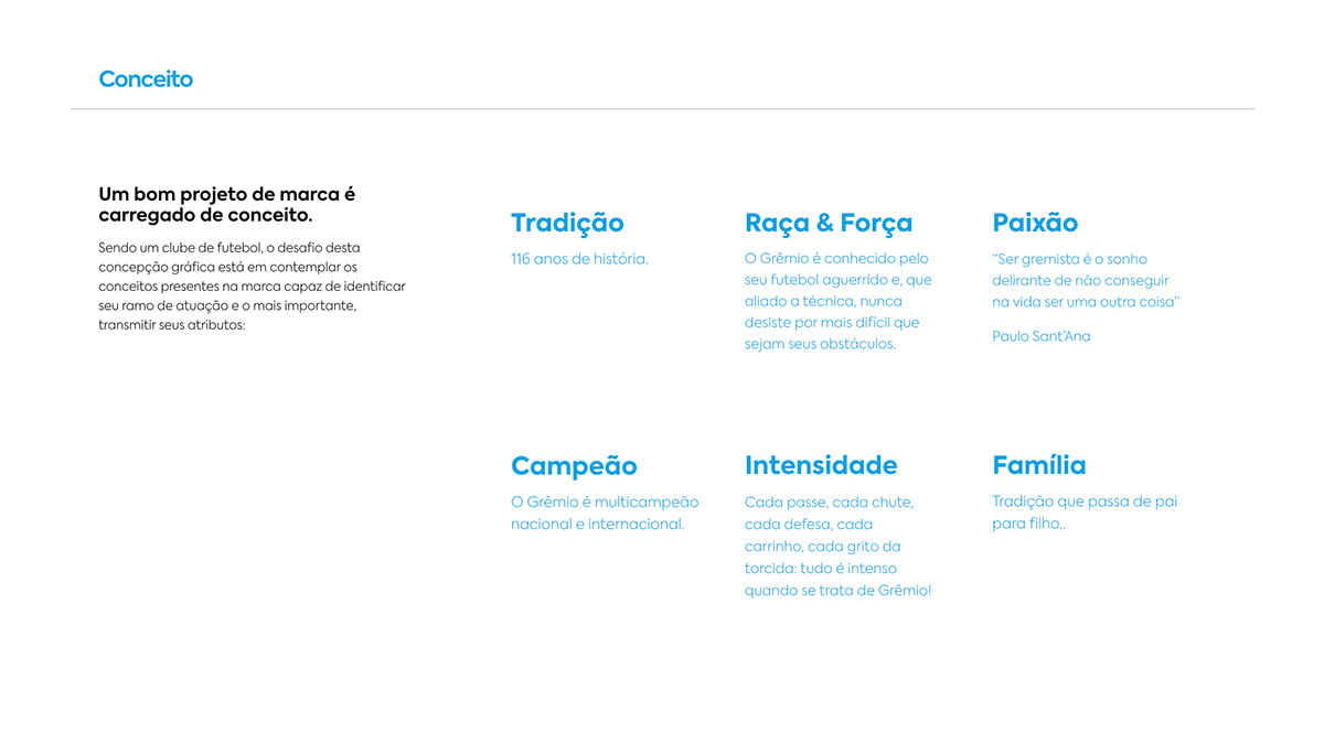football soccer sport futebol tricolor jersey team grêmio branding  redesign